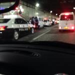 日記;事故渋滞